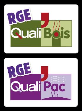 Pil'Poêle Poitou Charente Vendée est un installateur certifié RGE Qualibois et RGE Qualipac